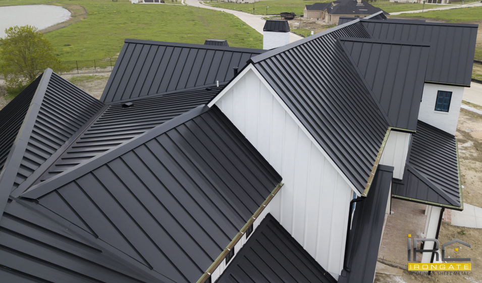 Irongate Roofing | Standing Seam Roof | Rockwall Roofing Specialists