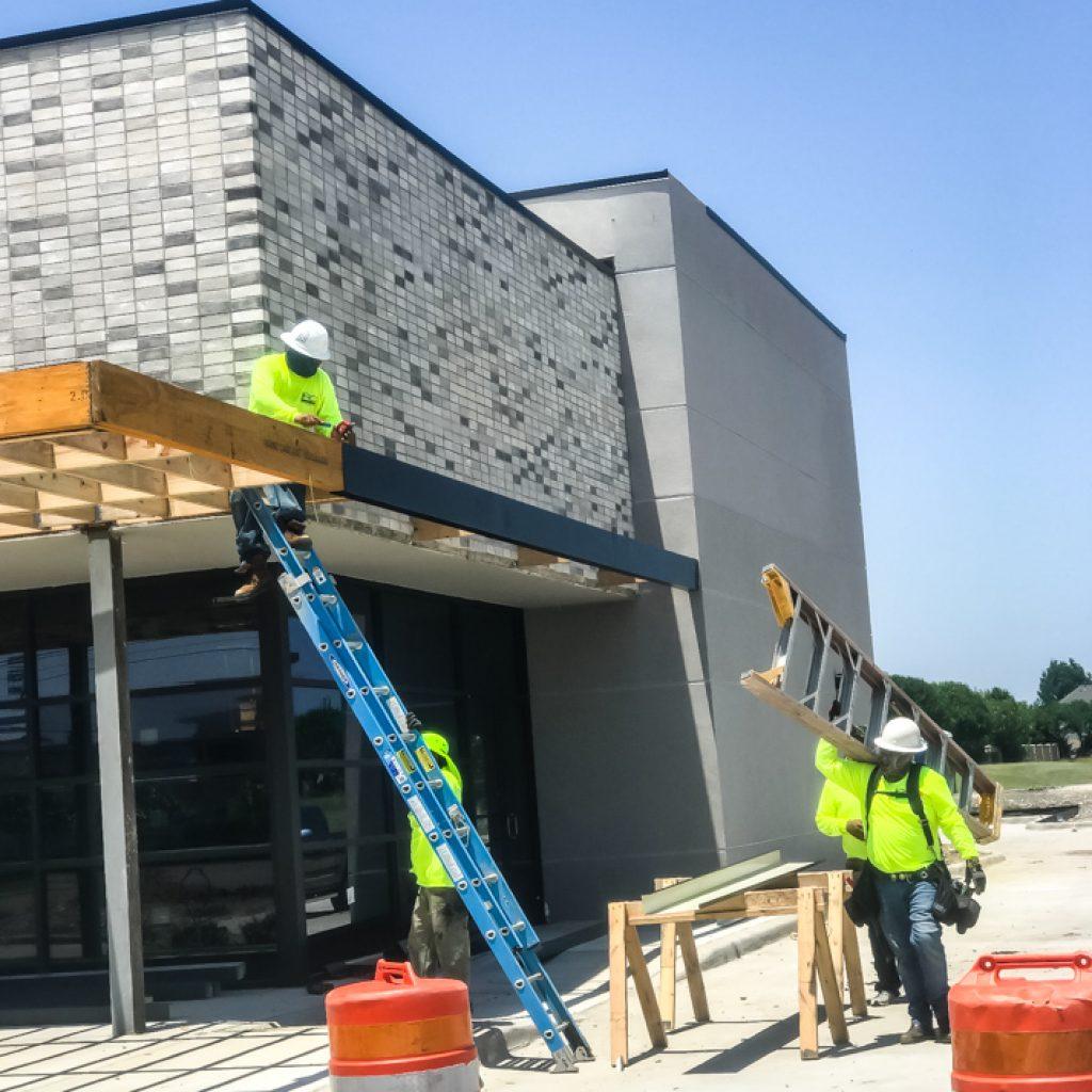 Sheet Metal Roofing in DFW