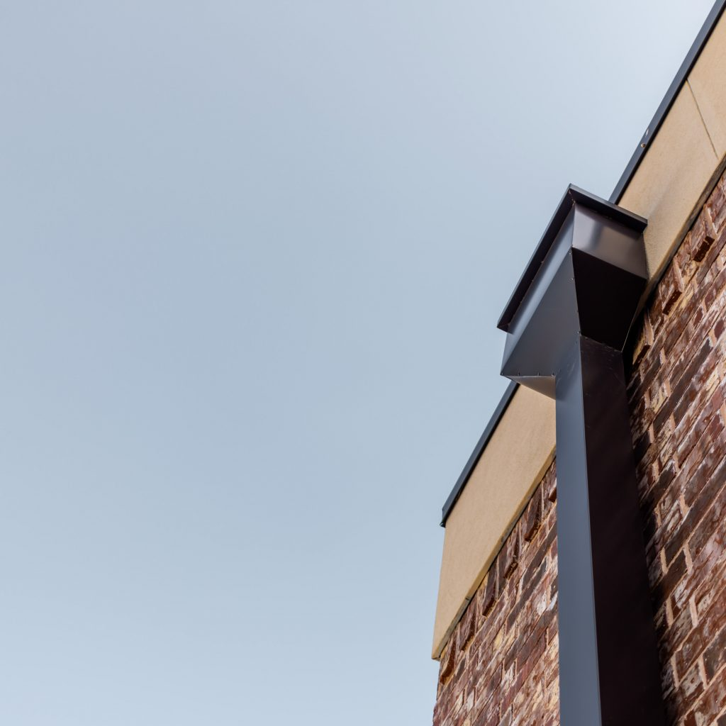Custom Metal Downspouts Rockwall Texas Roofing Roofing