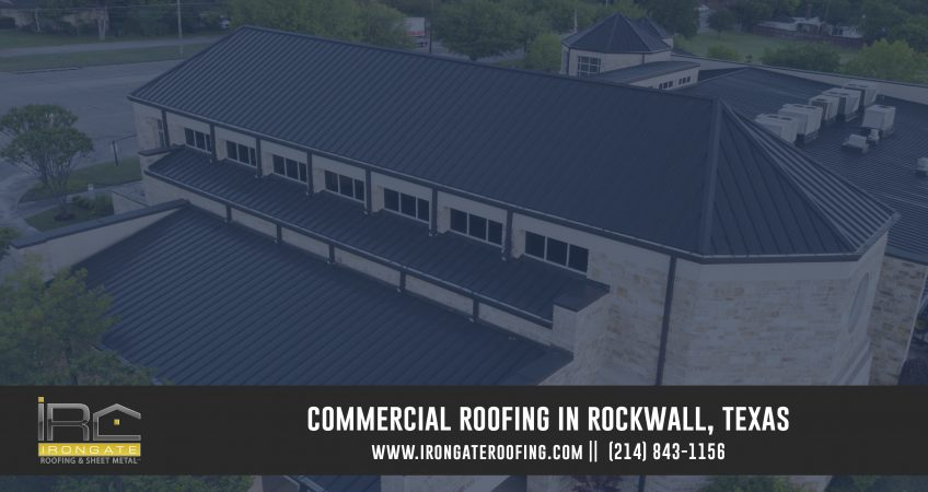 Rockwall Commercial Roofing Contractors
